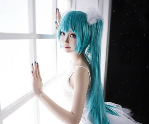 cosplay, vocaloid, and miku hatsune image