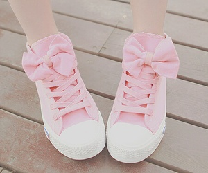 cute shoes, pink shoes, and shoes image