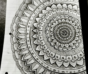 amazing, drawing, and flower image