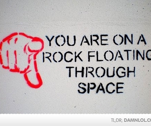 space, funny, and rock image