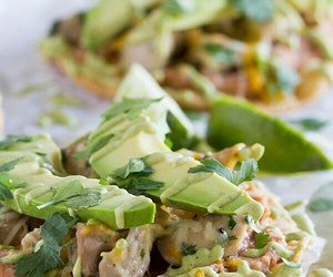 avocado, healthy, and sauce image