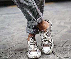 converse, style, and grey image