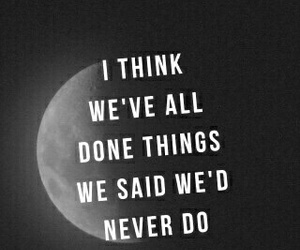 quotes, grunge, and moon image