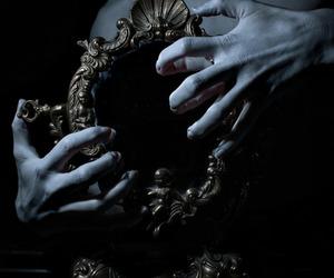 mirror and dark image