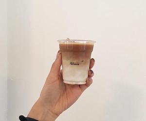 beauty, drinks, and ice cream image