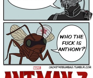 anthony, Marvel, and ant image