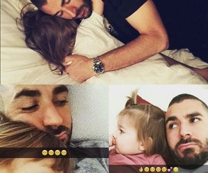 family, sleep, and karim benzema image