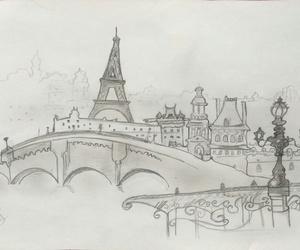 parís, art, and draw image