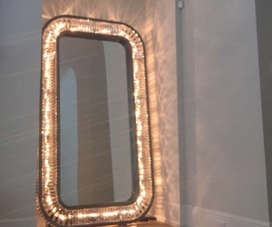 mirror, light, and kylie image