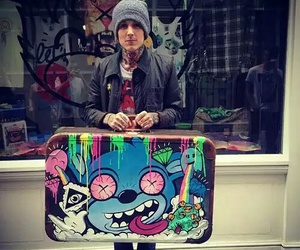 oliver sykes, bring me the horizon, and drop dead image