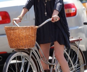 actress, bike, and producer image
