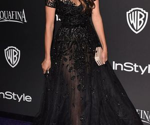dress, Nina Dobrev, and black image