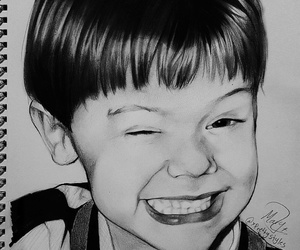 drawing and Harry Styles image