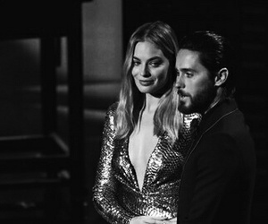 jared leto and margot robbie image