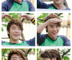 donghae, fish, and junior image