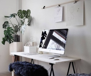 desk and workspace image
