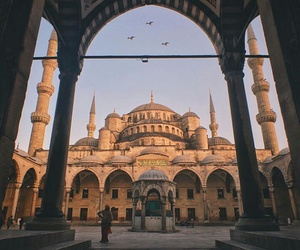 architecture, istanbul, and mosque image