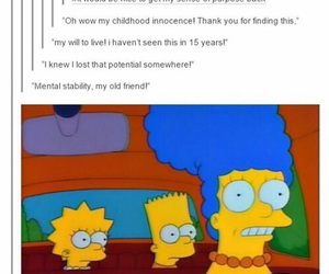 funny, lost, and tumblr image