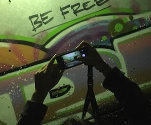 be free, dark, and freedom image