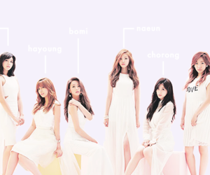 apink, a pink, and kpop image