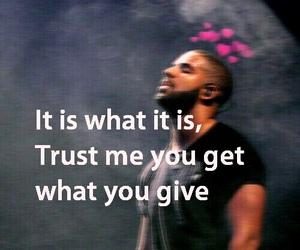 Drake, karma, and Lyrics image