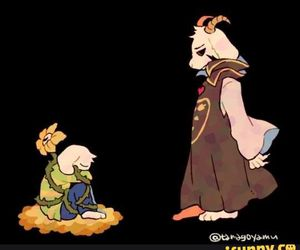 undertale, flowey, and asriel image