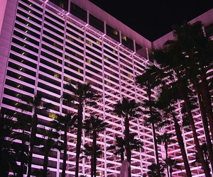 pink, night, and tumblr image