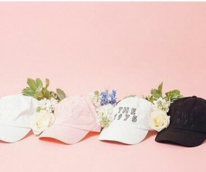 pink, cap, and the 1975 image