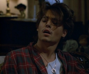 johnny depp, mood, and youth image