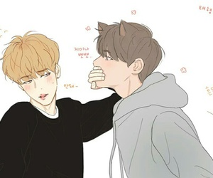 fanart, bts, and vmin image