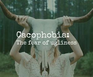 phobia, quote, and ugly image