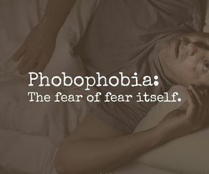 phobia, quote, and self image