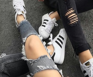 adidas, dark, and hipster image