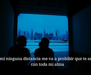 amor, distancia, and frase cita image