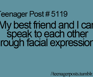 best friends, expression, and teenager post image