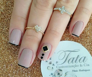 nails, uñas, and style image