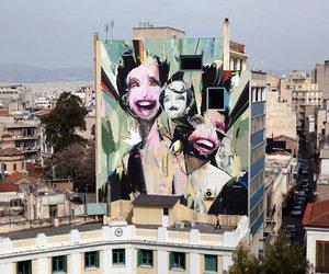 art, graffiti, and street art image