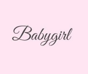 pink, babygirl, and header image