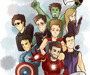 Avengers, rubelangel, and wigetta image