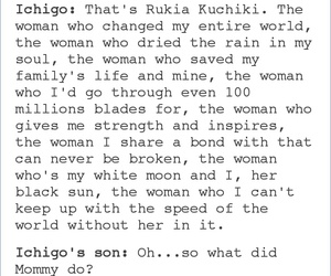 bleach, kuchiki rukia, and tumblr post image