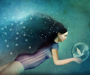 art, catrin welz-stein, and illustration image