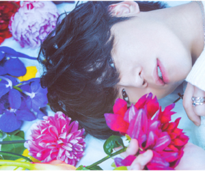 boy, flowers, and japanese image
