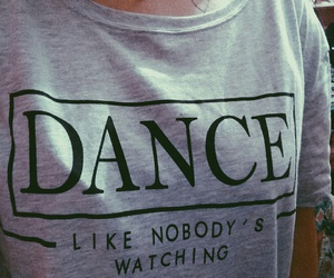 dance, grey, and grunge image