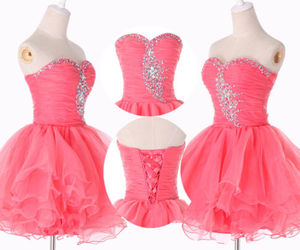 homecoming dress, sexy party dress, and charming homecoming dress image