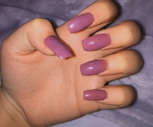 coffin, grey, and nails image