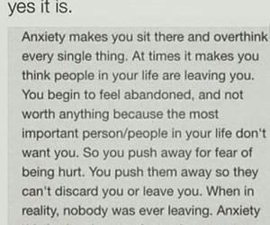 anxiety, sad, and depression image