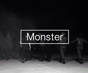 exo, monster, and exo k image
