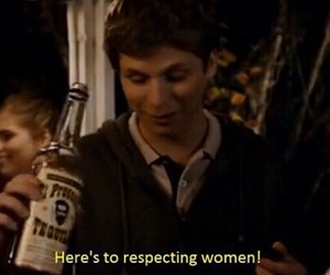 feminism, michael cera, and respect image
