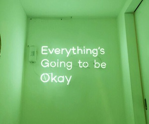 neon, quotes, and white image