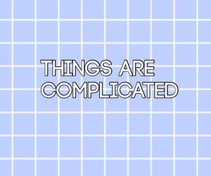 aesthetic, blue, and grid image